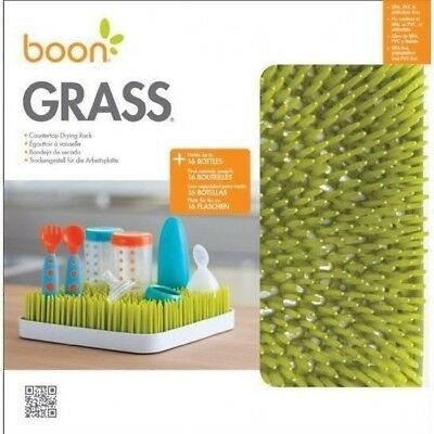 Boon Grass Green Counter Drying Rack Baby Bottle Drying Rack Boon Grass Green