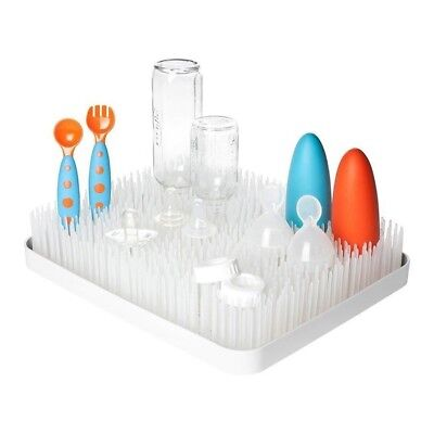 Boon Grass White Counter Drying Rack Baby Bottle Drying Rack Boon Grass White