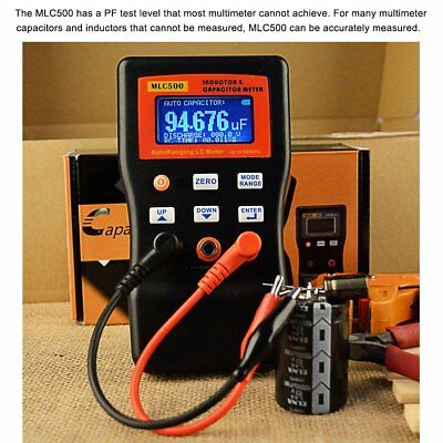 MLC-500 Auto Ranging LC Meter Professional Capacitance Inductance LCR Meter