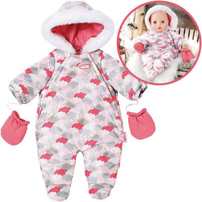 Zapf Creation Baby Annabell Deluxe Winterspaß Set (Rosa-Grau)
