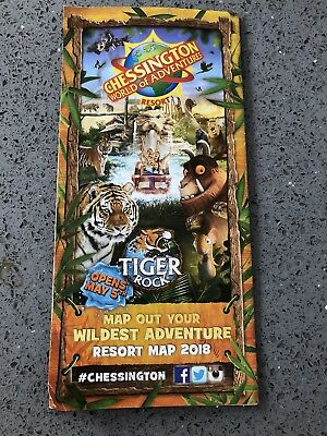 Chessington World of Adventures Map Guide/Brand new