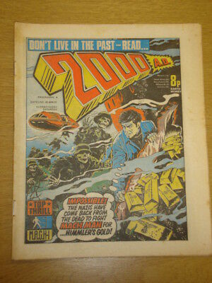 2000Ad #6 British Weekly Comic Judge Dredd Apr 1977 *