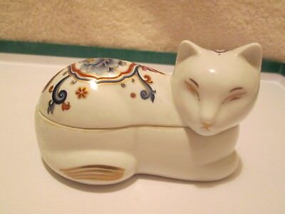 Elizabeth Arden CHINOISERIE COLLECTION Cat Trinket Box & Scented Candle Japan