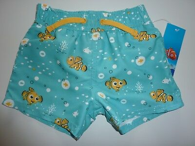Disney NEMO Swim Shorts NWT