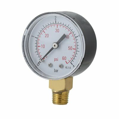 Practical Pool Spa Filter Water Pressure Gauge Mini 0-60 PSI 0-4 Bar TS-50 ZJ