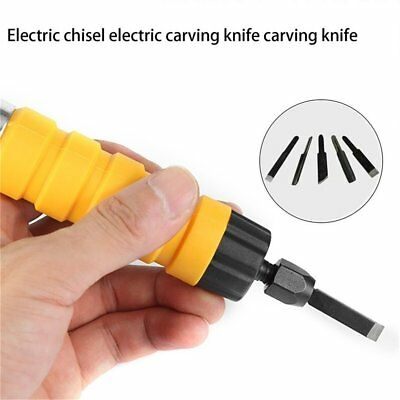 Electric Chisel Carving Tool Wood Carving Machine Woodworking Small Spanner GD