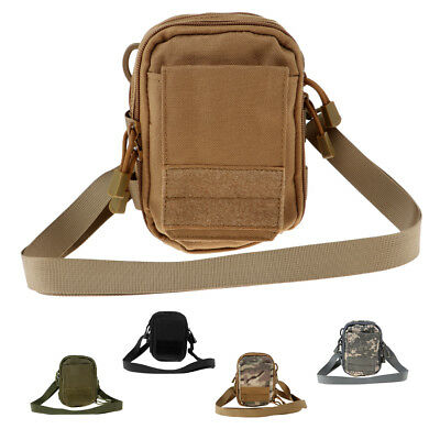 Outdoor Sport Travel Pouch Waist Belt Bag Backpacking Pack with Phone Holder