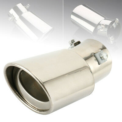 Car Curved Exhaust Tail Pipe Tip Stainless Steel For Ford Focus Kia