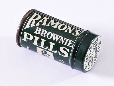 Ramon's Brown Pills , A Stimulant For The Kidneys , Full Tin , Excellent