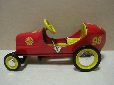 1947 Shell Racer Pedal Car Bank Crown Premiums 1/6 Scale Diecast Lim Ed in Box