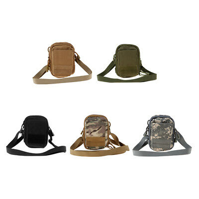 Molle Pouch Pack Sports Waist Bag Pack with Cell Phone Holder for Outdoor