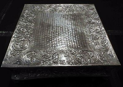 Indian Old Place  Cokki Size 45x45x16 Cm brass and silver Home Decorative Gift