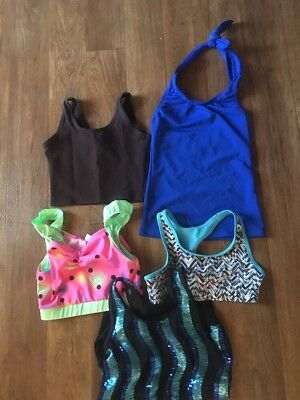Girls Dance Top Lot  Check out my new lower prices!