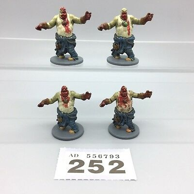 Cmon Zombicide Season 1 Painted Fatties Guillotine The Walking Dead X 4
