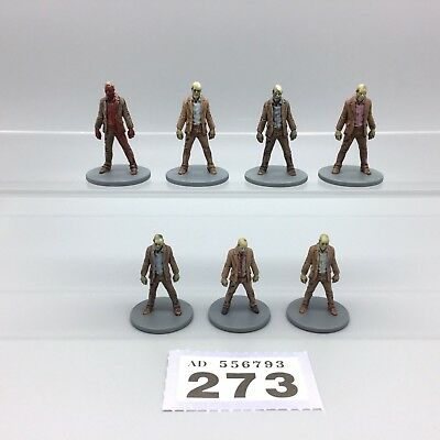 Guillotine Games Zombicide Painted Zombies Male Walkers Walking Dead X 7