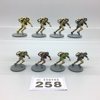 Guillotine Games Zombicide Painted Zombie Runners X 8 Hoodies & Shorts