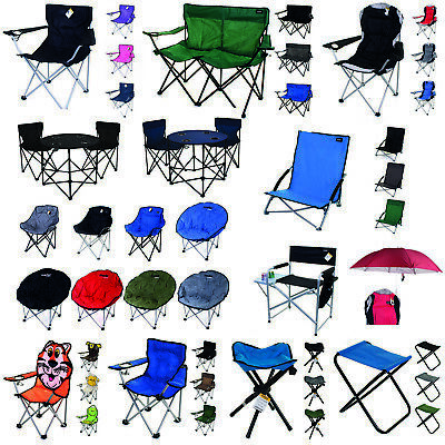 Camping Chairs Folding Moon Camping Director Luxury Elite Padded Fishing Outdoor