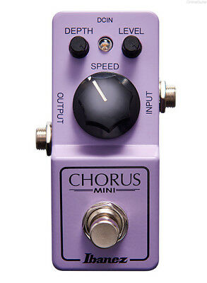 NEW IBANEZ CHORUS MINI GUITAR EFFECTS CSMINI PEDAL w/ FREE CABLE 0$ US SHIPPING