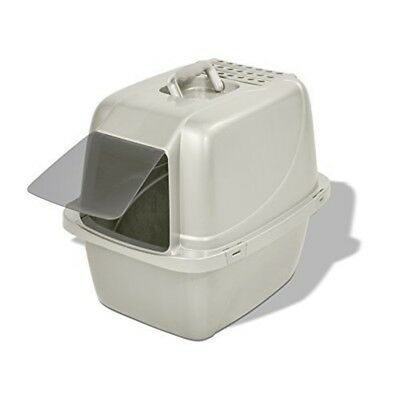 Van Ness Enclosed Cat Pan, Large - Pan Accessories Litter Trays