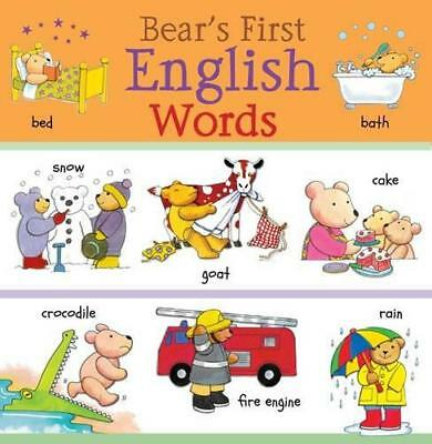 Bear's First English Words (Bear's First Words) by Beaton, Clare, Bruzzone, Cath