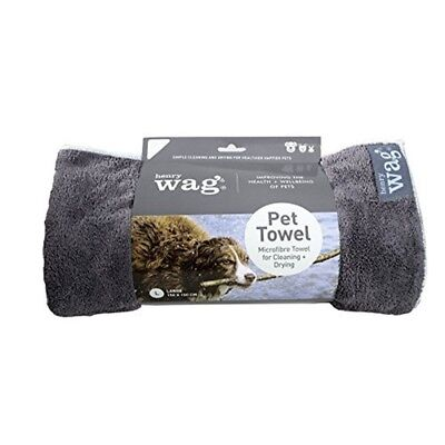 Henry Wag Pet Large Towel Drying Coats Super Absorbent Quick Drying Microfibre