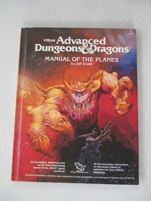 Manual of the Planes (Advanced Dungeons and Dragons) by Jeff Grubb (1987-07-03)