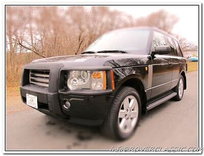 2005 Land Rover Range Rover WESTMINSTER 2005 LAND ROVER RANGE ROVER ... 71,668 Original Miles WESTMINSTER EDITION