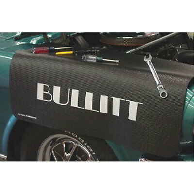 Fender Gripper FG2128 Mustang Fender Cover Black With Bullitt Logo