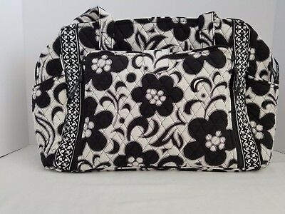 Vera Bradley Make A Change Baby Bag Night And Day (Black & White) Nwt