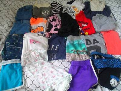 Enormous Lot of Girls Smmer clothes sz 10-12, Justice Denim,Tees,Shorts Spring