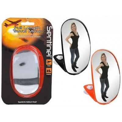 Sentinel Hand Held Full Length Mirror Camping & Travel
