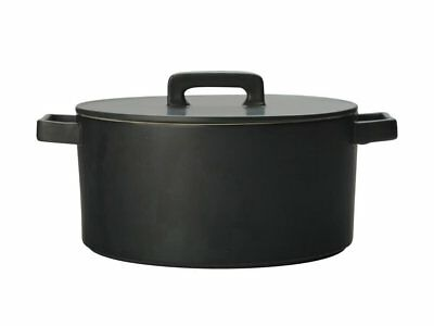 Maxwell & Williams Epicurious Round Casserole Dish (Black) - 1.3L Free Shipping!