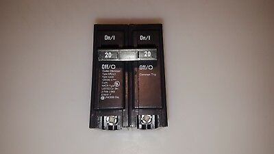 Cutler Hammer Eaton Br220 Plug-On Circuit Breaker 20 Amp 2 Pole Type Br 20A 2P