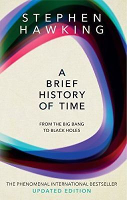 A Brief History Of Time: From Big Bang To Black Holes by Stephen Hawking - NEW