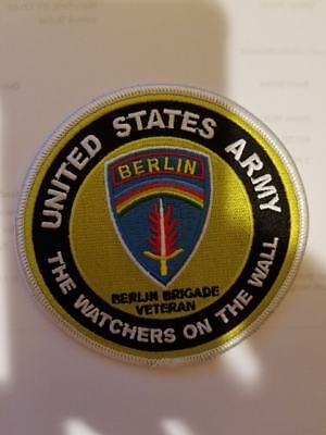 """Berlin Brigade -The Watchers On The Wall  Germany 4"""" embroidered patch"""