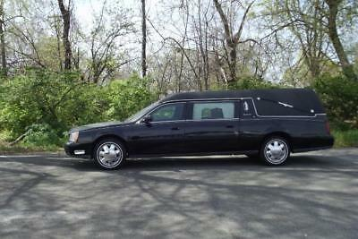"""2002 Cadillac DeVille Hearse 2002 Cadillac S&S Funeral Hearse Limo 45k Miles """"excellent condition"""" MUST SEE !"""