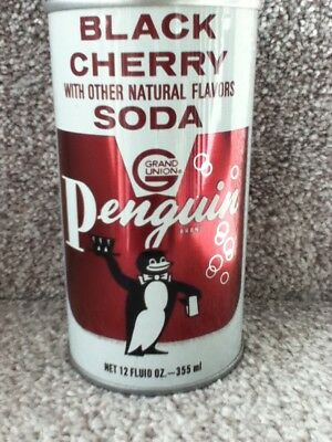 Penguin Black Cherry straight steel. Grand Union Co. Elmwook Park, NJ.
