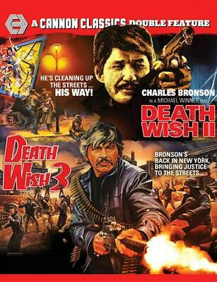 Death Wish 2 / Death Wish 3 - DVD Region 4 Free Shipping!