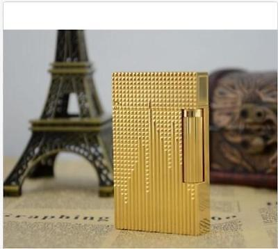 NEW S.T Memorial lighter Bright Sound! free shipping Gold Colour lighter