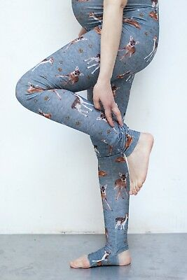 Maternity leggings - Bambi design