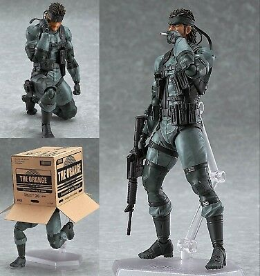 figma 243 Solid Snake Metal Gear Solid 2 Max Factory Action Figure