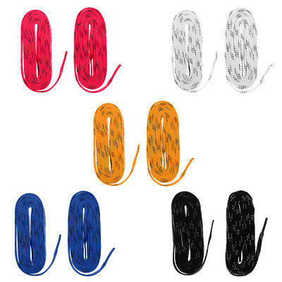 Non-skid Strong Ice Hockey Skates/Roller Skates Boots Shoe Laces for Skating
