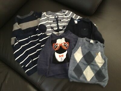Size 0 Boys Winter Jumper bundle