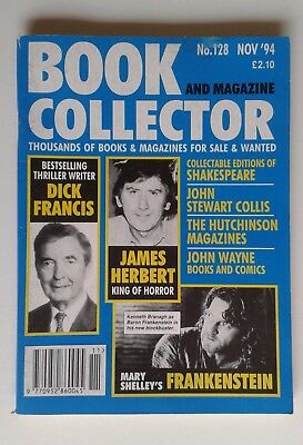 Book and Magazine Collector November 1994 No. 128 James Herbert / Frankenstein