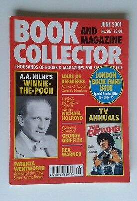 Book and Magazine Collector June 2001 No. 207 A A Milne / TV Annuals