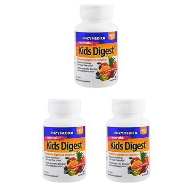 ENZYMEDICA KIDS DIGEST Chewable 60 Tablets - £16 99