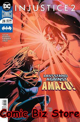Injustice 2 #24 (2018) 1St Printing Dc Comics Bagged & Boarded