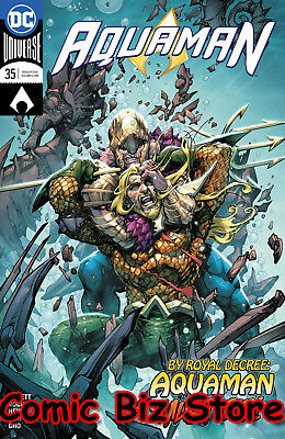Aquaman #35 (2018) 1St Printing Dc Universe Rebirth Bagged & Boarded