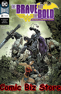 Brave & The Bold Batman & Wonder Woman #3 (2018) 1St Printing Dc Comics Universe