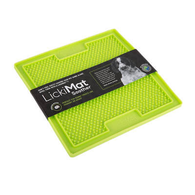 Lickimat Soother Treat Mat for Dogs, Cats & Puppies Interactive Feeder Toy